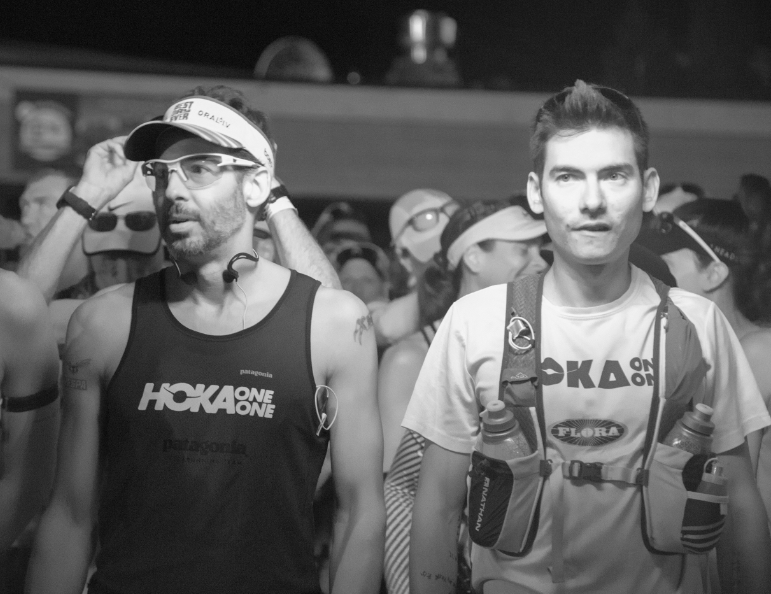 HOKA Athletes Paul Terranova and Sage Canaday eager to start.