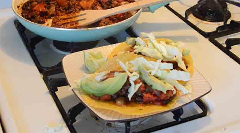 Fast Food: Vegan Chorizo Tacos