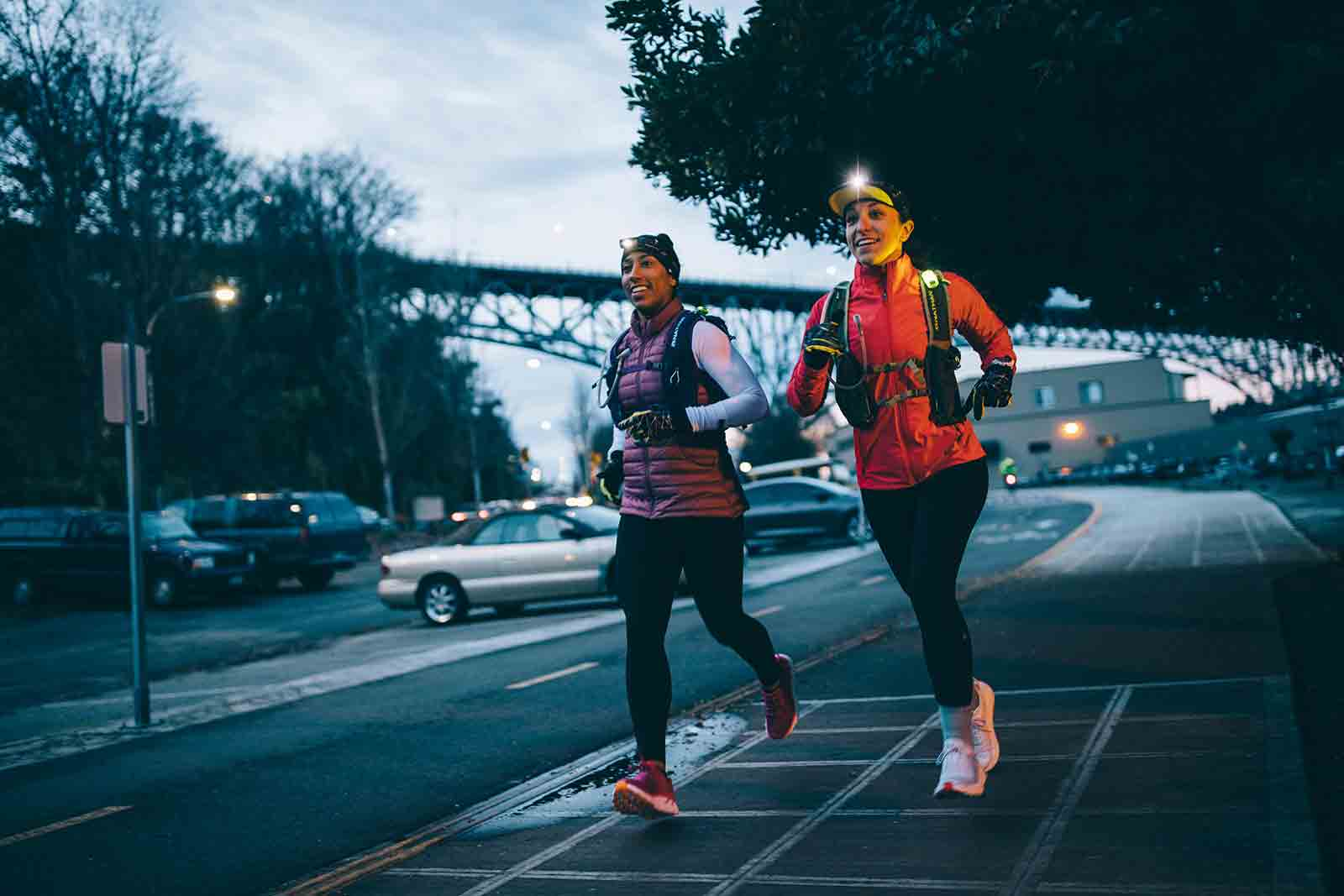 Runners Dani and Ashley Reimagine City Commutes in Seattle